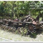 現地にいまだ残る日本軍中型戦車ー兵どもは夢のあとー