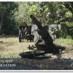 いまだに残る日本軍の大砲類